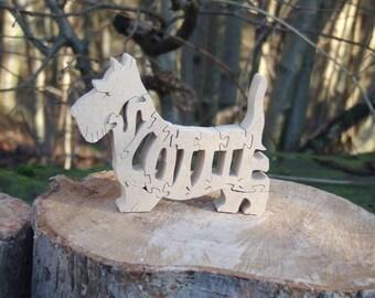 Scottish terrier, Scottie dog, Scottie dog gift, Scottie dog ornament, gift for dog lover, gift for him, gift for her, Scottie dog memorial