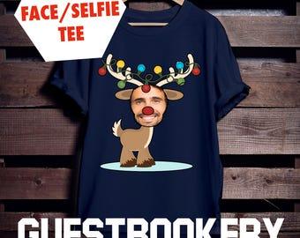 Ugly Christmas T-shirt - Ugly Christmas Sweater - Selfie Gift - Selfie Christmas Shirt - Custom Christmas Shirt - Funny Christmas Sweater