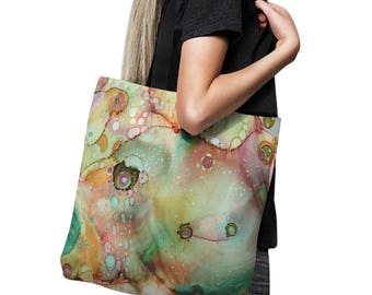 Abstract Moose Art Diaper Bag Baby Tote Bag tote bag art beach bag artist tote abstract art computer bag gym bag grocery bag school bag art