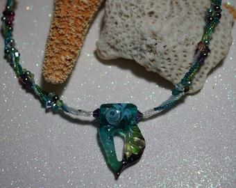 Aqua Sea Breeze Necklace