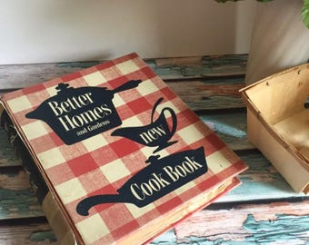 Vintage Better Homes And Gardens New Cookbook