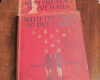 Three Hardcover Boer War History Books.