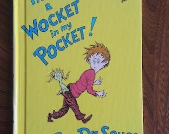 There's A Wocket In My Pocket! - Dr. Seuss's Vintage Children's Books - Hardcover Used Books For Beginner Kids