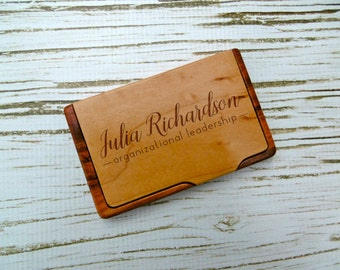 Engraved business card holder personalized business card custom business card holder personalized business card holder laser engraved business gift colourmoves
