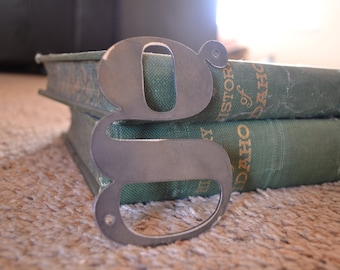 Metal Letters 4 inch tall