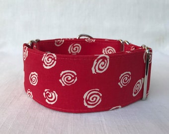 Swirlies Martingale Dog Collar