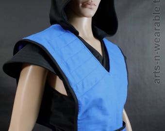 Mortal Kombat Sub Zero Costume Cosplay