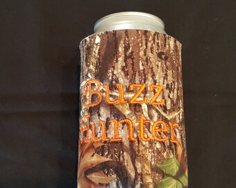 Buzz Hunter Custom Camo Insulated Beverage Can Cooler