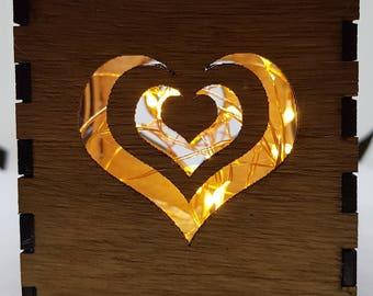 Heart With Hearts Tealight