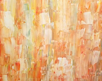 Original Abstract Painting - Acrylic and Enamel on 24 x 30 Canvas