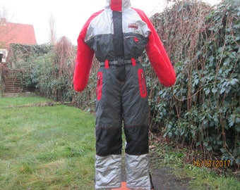 1 PC Junior Ski Suit / One Piece Skisuit / Kids Snow Suit / One Piece Ski Suit / SkiSuit Vintage / For Junior About Height  152 cm