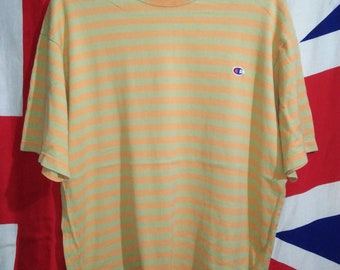Vintage Champion Striped T-shirt Original