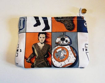 Star Wars The Force Awakens Rey/Finn/Poe Coin Purse **LAST IN STOCK**