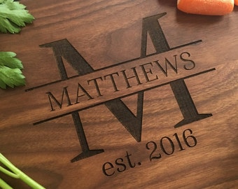 Personalized Cutting Board Bridal Shower Gift Wedding Present Christmas  (Item Number EEBB204)