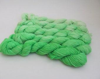 Lime Green Gradient Yarn Set