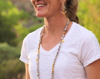Long Boho Tassel Necklace