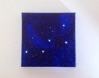 Cassiopeia Constellation Miniature Painting