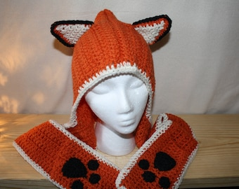 Child's Fox Scoodie