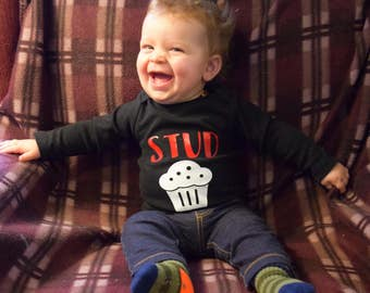 Stud Muffin Onesie, Stud Muffin Shirt