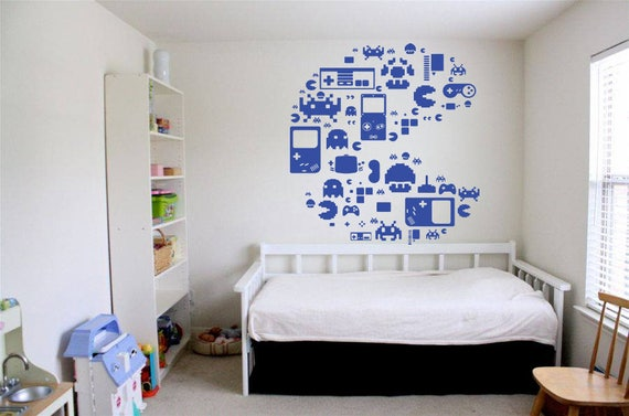 Wall Decal Video Game Wall Decals Controller Xbox Playstation