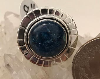 Chrysocolla Ring, Size 8 1/2