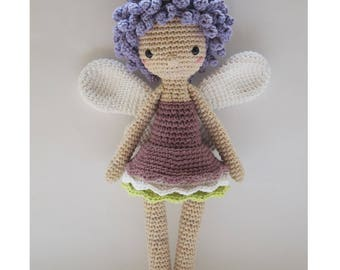 Aurélie, the Fairy - Crochet Pattern by {Amour Fou}