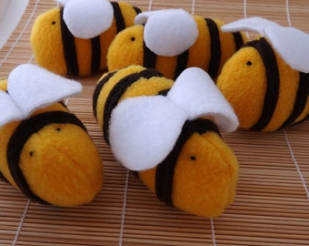 Honeybee Catnip Toy