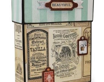 BoBunny Soiree Recipe Box Kit