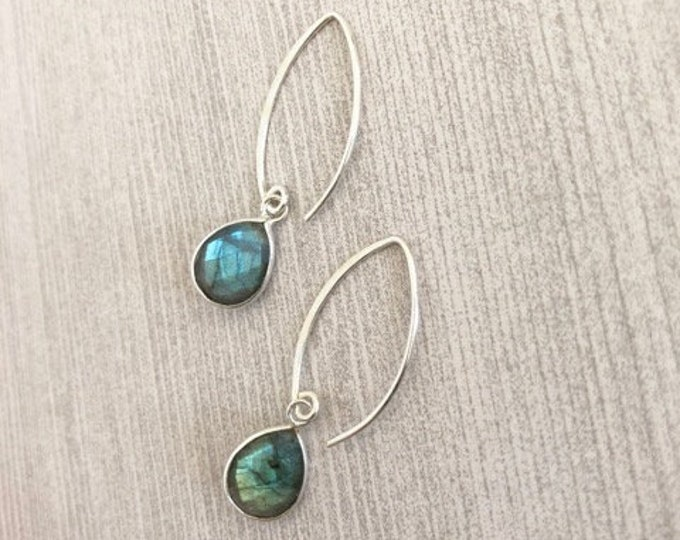 Featured listing image: Labradorite Dangle Earrings