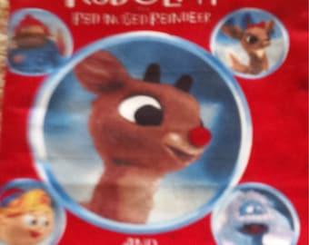 Rudolph the Red Nosed Reindeer Fabric Books