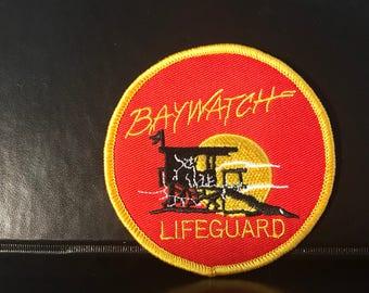 Retro Baywatch Lifeguard logo