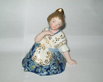 Vintage Porcelain Figurine Made in Spain