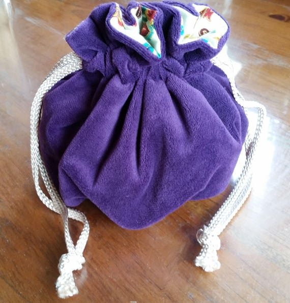 Dice Bag DND velveteen drawstring
