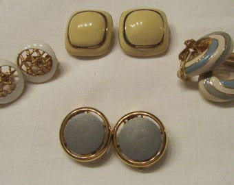 Earrings vintage Nina Ricci & Trifari