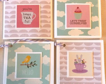 Handmade Gift Tags- Set of 4