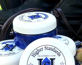 Plain Bay -- Unscented -- Handcrafted Saddle Soap -8 oz plastic jar