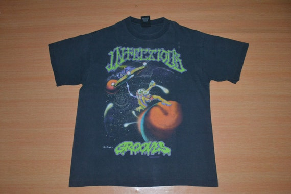 Sarsippius' Tour INFECTIOUS Tendencies 90s shirt T shirt 1992 promo rare Suicidal Vintage t Ark Concert GROOVES gig t0ByqH