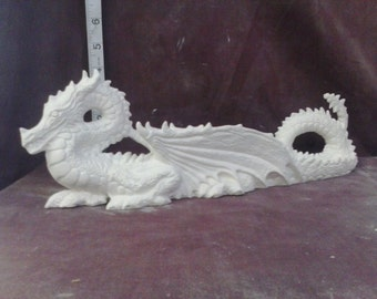 Ceramic Nowells Dragon Incense ashcatcher ready to paint