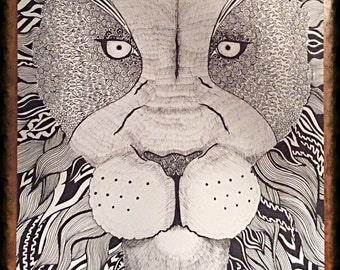 Tangled Lion