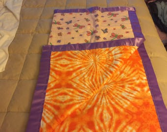 TIger Lilly Blankets Flannel Fleece Receiving Blankets