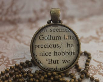 Gollum ~ precious Pendant  ~ The Lord Of The Rings ~ J.R.R Tolkien ~