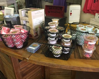 SPRING/Summer Scents- Highly Scented Wax Tarts / Scent Shots - Small Cups