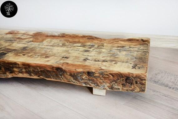 centre de table rustique bois recycl pi ce ma tresse bois. Black Bedroom Furniture Sets. Home Design Ideas