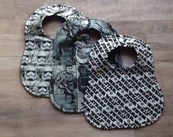 Star Wars Baby, Star Wars Bibs, Baby Bibs, Baby Boy Clothes, Star Wars, Bibs, Baby Boy Bibs, Baby Shower Gift, Star Wars Baby Gifts, Baby