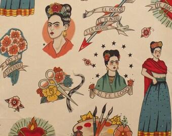 Alexander Henry FABRIC - Nicole's Prints - Todo Para Ti in Taupe