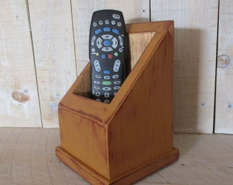 Multi Use Caddy, Remote Control Caddy, Primitive Box, Handmade Caddy, TV Remote Holer, Utility Box, Primitive Decor, (#ENGM)