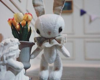 OOAK Miniature Bunny / Miniature Teddy / Blythe Friend