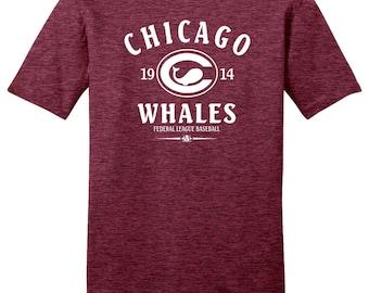 Chicago Whales 1914 Federal League Baseball Tee Shirt