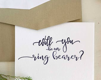 Ring Bearer Card, Asking Ring Bearer Gift, Will You Be My Ring Bearer, Will You Be Our Ring Bearer, Usher card, Ring Bearer Proposal Card