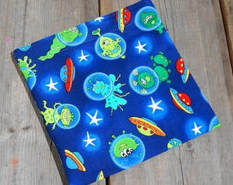 Reusable Snack Bag - Single Bag in Alien, Marian, Space Man